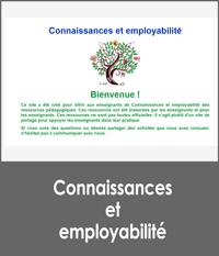 Connaissances et employabilité
