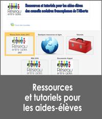 Ressources pour les aides-élèves