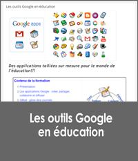 Les outils Google en éducation