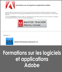 Les logiciels et les applications Adobe