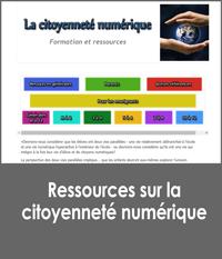 Ressources sur la citoyenneté numérique