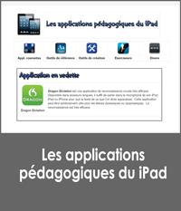 Les applications pédagogiques du iPad